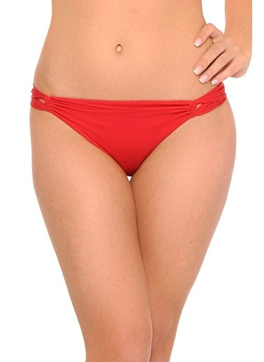 Reflections Mix Match Halat Modeli Düz Bikini Altı Kırmızı